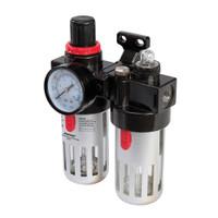 Silverline Air Filter Regulator & Lubricator