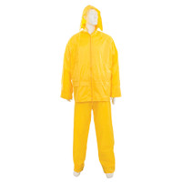 Silverline Yellow Rain Suit - 2 piece