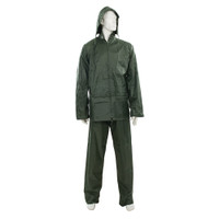Silverline Green Rain Suit - 2 piece