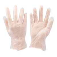Silverline Disposable Vinyl Gloves - Pack of 100