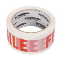 Fixman 48mm 'Fragile' Packing Tape