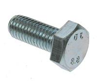Hex Head HT Set Screws - Grade 8.8 - Bright Zinc Plated