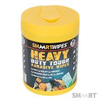 SMAART Heavy-Duty Tough Abrasive Wipes - 75pk