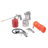 Silverline Air Tools & Compressor Accessories Kit - 5 piece