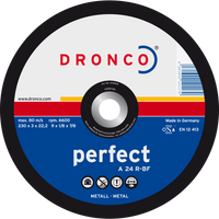 Dronco Perfect Depressed Centre Metal Cutting Discs