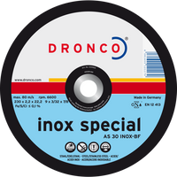 Dronco Inox Special Flat Cutting Discs