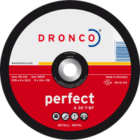 Dronco Perfect Metal Grinding Discs