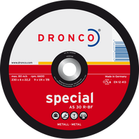Dronco Special Metal Grinding Discs