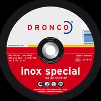 Dronco Inox Special Depressed Centre Grinding Discs