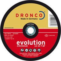 Dronco Evolution Depressed Centre Grinding Discs
