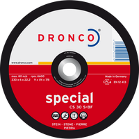 Dronco Special Depressed Centre Stone Grinding Discs
