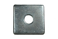 Square Plate Washers - Bright Zinc Plated