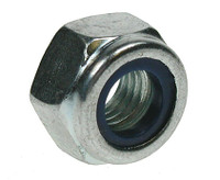 UNF Nyloc Nuts Type 'P' - Bright Zinc Plated