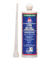 J-Fix Winter Grade Vinylester Injection Resin - 410ml Cartridge