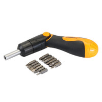 Silverline Multi-Bit Ratchet Screwdriver