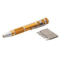 Silverline Precision Screwdriver Pen Set - 9 piece