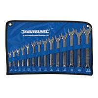 Silverline 8-24mm Combination Spanner Set - 14 piece