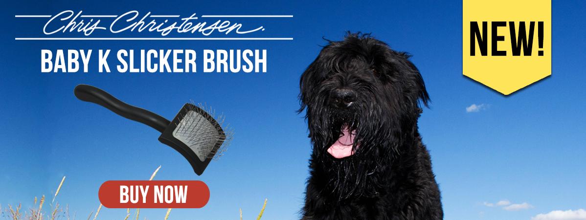 New Chris Christensen Baby K Slicker Brush