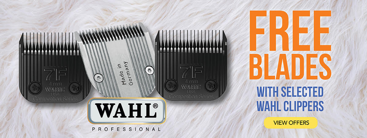 Free Blades with selected Wahl Clippers
