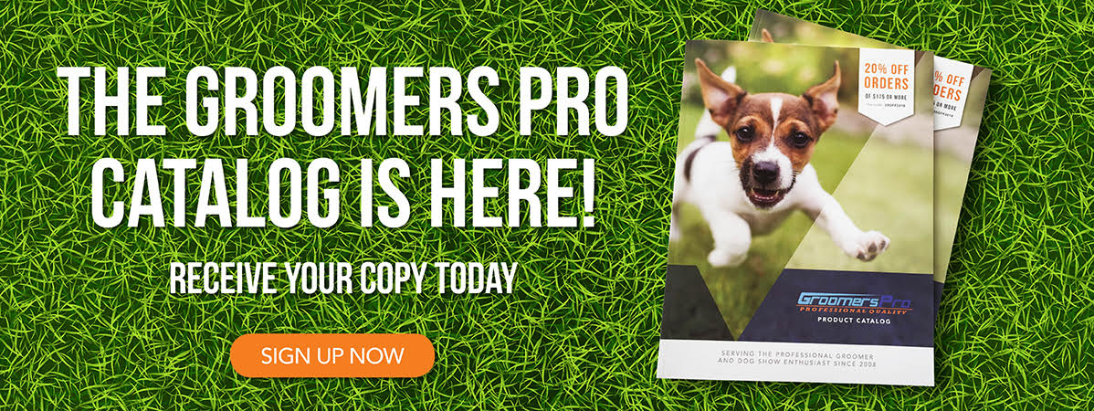 Request a Groomer's Pro catalog