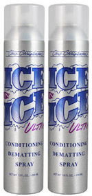 Special Offer - Ice on Ice Ultra Conditioning Dematting Spray, but 2 save $7.50!