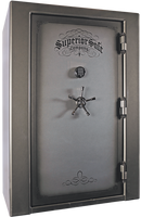 Superior Untouchable Series Safe in Gun Smoke with black chrome