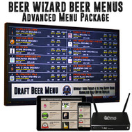 Beer Wizard Beer Menus - Advanced