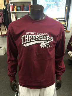 DISTRESSED THRESHER L/S
