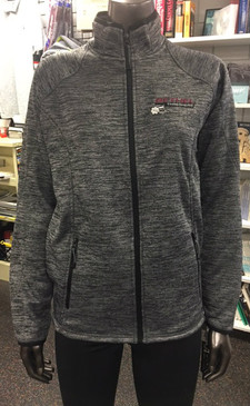 HEATHER FLEECE JACKET