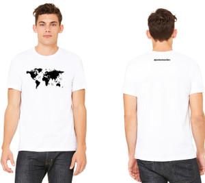 World Map Jersey Cotton Tee