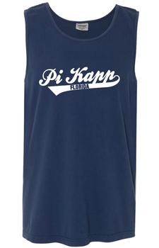 Pi Kapp Baseball Comfort Colors Tank/Jerzees Crewneck