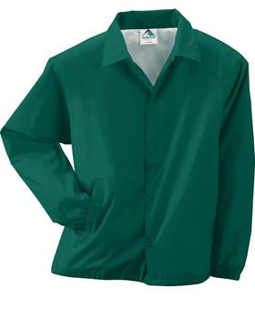 Augusta  Lined Nylon Coach's Windbreaker Jacket