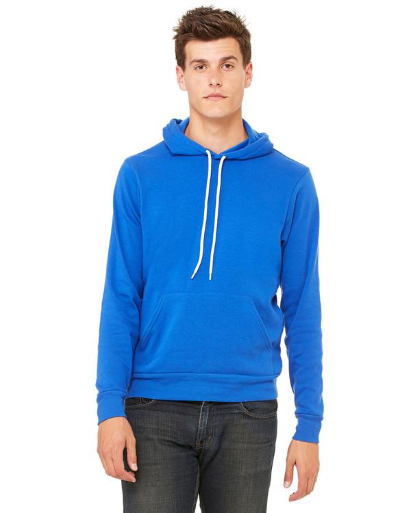 Bella   Canvas Unisex Poly-Cotton Fleece Pullover Hoodie - Clothes ...