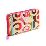 Zip Wallet in Calypso Cream design