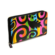 Zip Wallet in Calypso Black design