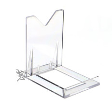 "Two Piece Adjustable Display Stand Easels, 3-1/8"" High"