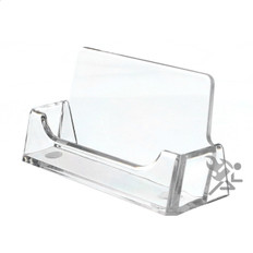 Clear Business Card Display Stand Holders