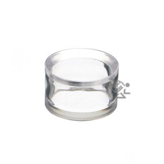 """1-1/4"""" x 3/4"""" Clear Acrylic Beveled Ring Display Stands"""