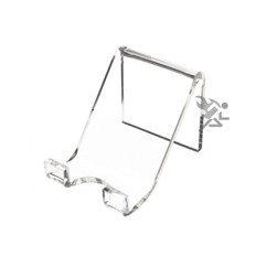 "2"" Slanted Paperweight Display Stand Easels"
