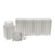 CoinSafe Brand Square Small Dollar Coin Tubes