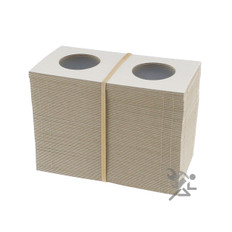 Cardboard & Mylar 2x2 Small Dollar Coin Flips Qty: 100