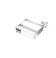 """1-1/4"""" Slotted Name Card Sign Display Stand Holders"""