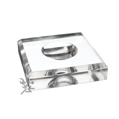 """Extra Large 3.5"""" Square Dimple Block Display with 2"""" Dimple"""