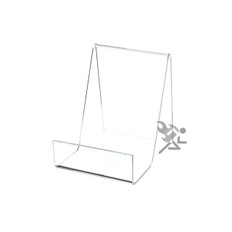 "4"" Book Display Stand Easel with 1-1/2"" Resting Shelf"