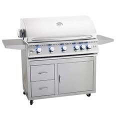 """Summerset Sizzler PRO 40"""" Gas Grill & Cart"""