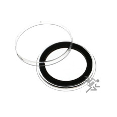 31mm Black Ring Air-Tite Coin Capsule Holders for 1/2oz Sterling Panda