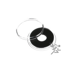 10mm Black Ring Air-Tite Coin Capsule Holders for Gold Maximilian