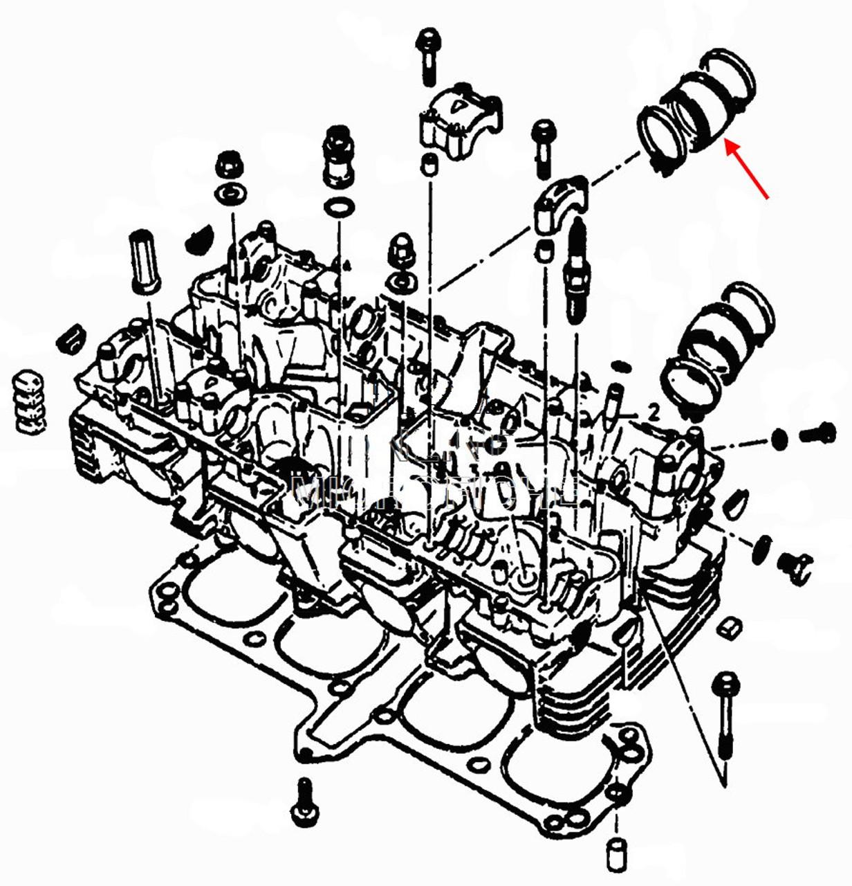 Suzuki OEM Right Side Carburetor Holder GS1100