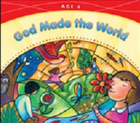 God Made the World, age 4, workbook & Catechist Manual Set