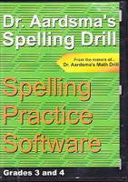 Dr. Aadrsma's Spelling Drill, Grades 3 and 4